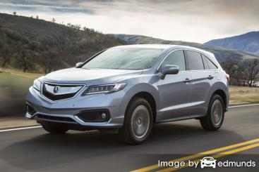 Insurance rates Acura RDX in Chicago