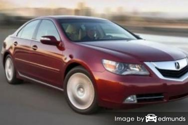 Insurance quote for Acura RL in Chicago