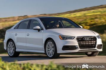 Insurance quote for Audi A3 in Chicago