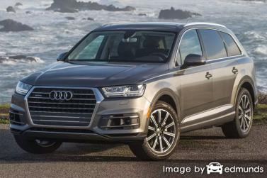 Insurance quote for Audi Q7 in Chicago
