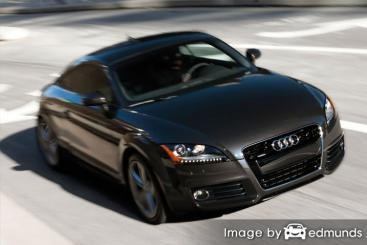 Insurance quote for Audi TT in Chicago