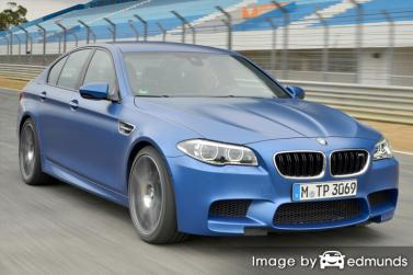 Insurance rates BMW M5 in Chicago