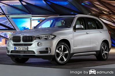 Insurance quote for BMW X5 eDrive in Chicago