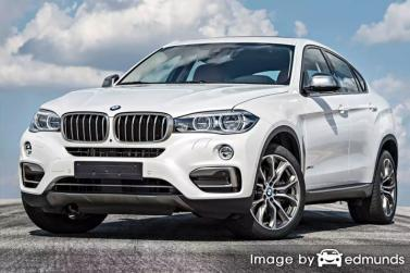Insurance quote for BMW X6 in Chicago