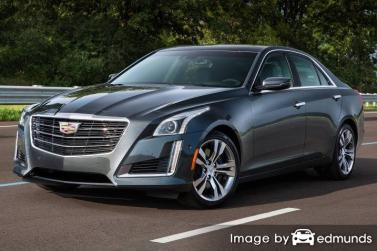 Insurance rates Cadillac CTS in Chicago