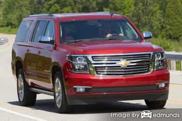 Insurance quote for Chevy Suburban in Chicago