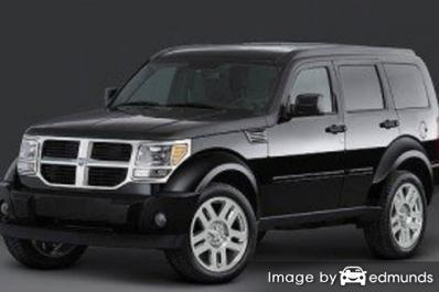 Insurance rates Dodge Nitro in Chicago