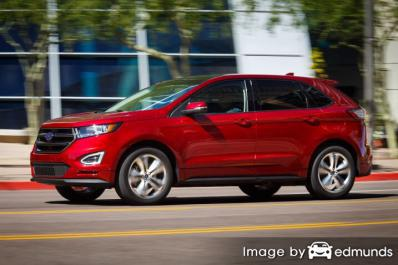 Insurance quote for Ford Edge in Chicago