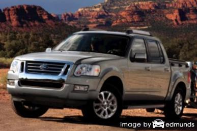 Insurance quote for Ford Explorer Sport Trac in Chicago