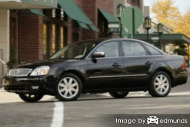 Insurance quote for Ford Five Hundred in Chicago