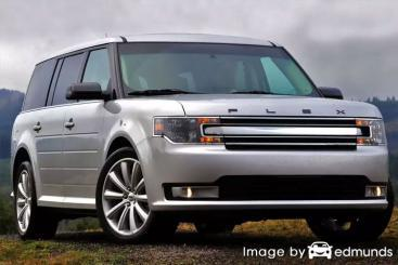 Insurance quote for Ford Flex in Chicago