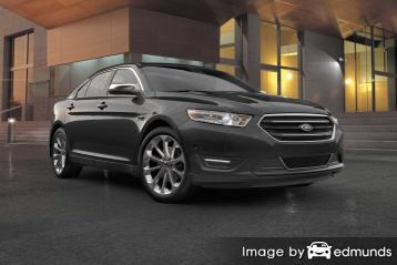 Insurance rates Ford Taurus in Chicago