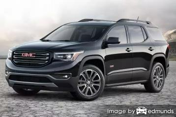 Insurance rates GMC Acadia in Chicago