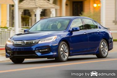 Insurance rates Honda Accord Hybrid in Chicago