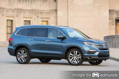 Insurance quote for Honda Pilot in Chicago