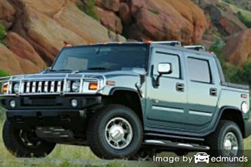 Insurance quote for Hummer H2 SUT in Chicago