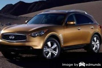 Insurance quote for Infiniti FX35 in Chicago