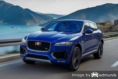 Insurance rates Jaguar F-PACE in Chicago