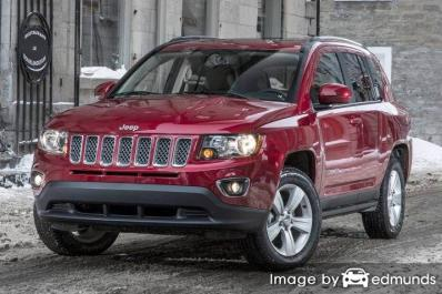 Insurance quote for Jeep Compass in Chicago