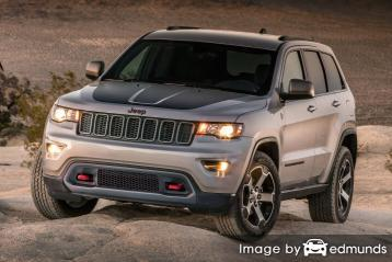 Discount Jeep Grand Cherokee insurance