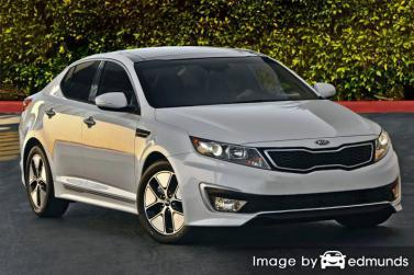 Insurance quote for Kia Optima Hybrid in Chicago