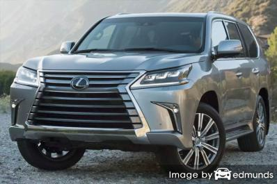 Discount Lexus LX 570 insurance
