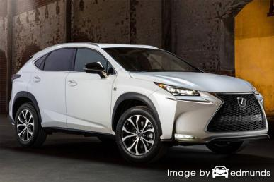 Insurance quote for Lexus NX 200t in Chicago