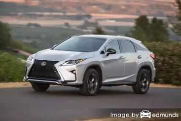 Insurance rates Lexus RX 350 in Chicago