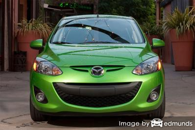 Insurance quote for Mazda 2 in Chicago
