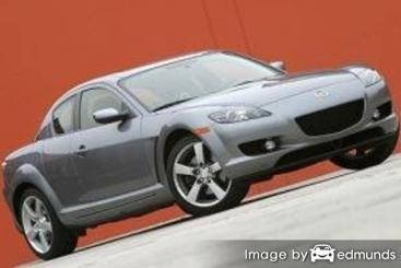 Insurance rates Mazda RX-8 in Chicago