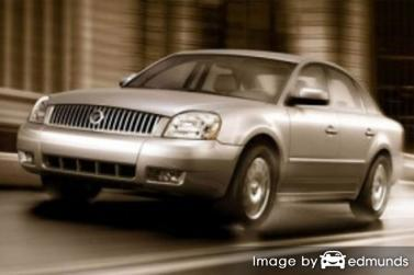 Insurance rates Mercury Montego in Chicago