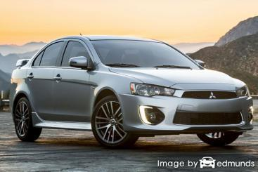 Insurance rates Mitsubishi Lancer in Chicago