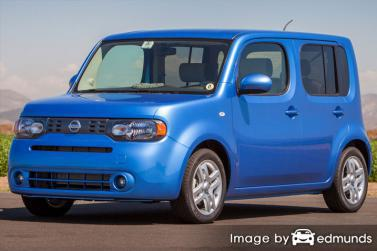 Insurance rates Nissan cube in Chicago