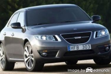 Insurance rates Saab 9-5 in Chicago