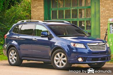 Insurance quote for Subaru Tribeca in Chicago