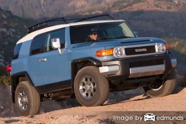 Insurance rates Toyota FJ Cruiser in Chicago