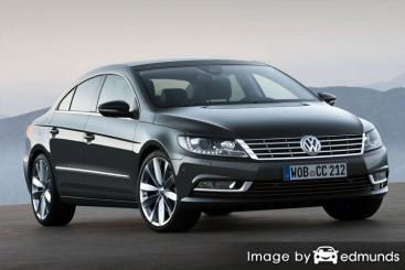 Insurance rates Volkswagen CC in Chicago