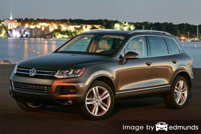 Insurance quote for Volkswagen Touareg in Chicago