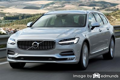 Insurance quote for Volvo V90 in Chicago